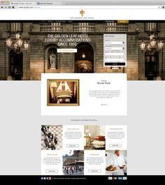 Luxury Urban Hotel Website Template