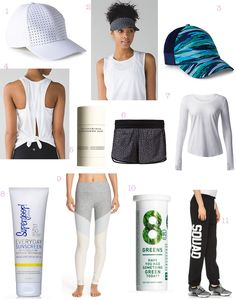 Go to workout essentials. A list of my favorite products and gear for my workouts.