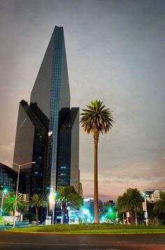 Bolsa Mexicana de Valores. Paseo de la Reforma. Ciudad de México