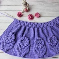 Cardigan for girls örgü Kids Knitting Patterns, Easy Knitting Patterns, Knitting For Kids, Lace Knitting, Crochet For Kids, Knitting Stitches, Knitting Designs, Knit Crochet, Crochet Baby Jacket