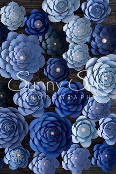 paper-flowers-navy-blue