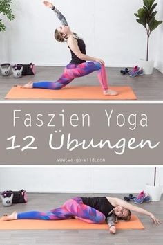 12 effektive Faszien Yoga Übungen, die Verspannungen lösen Faszientraining is in. Mostly one uses thereby the Faszienrolle. Exercises that relieve tension, but can also be found in yoga. Fascia Yoga exercises do not require. Yoga Fitness, Fitness Workouts, Fitness Motivation, Planet Fitness Workout, Fitness Tips, Health Fitness, Muscle Fitness, Fitness Quotes, Physical Fitness
