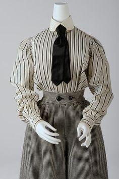1900 shirtwaist, via Wien Museum.