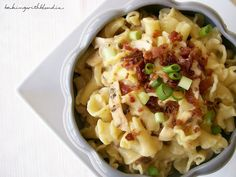 Bacon Ranch Chicken Pasta