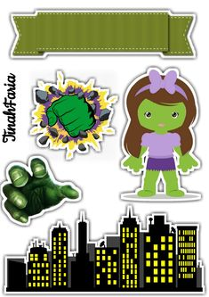 Free Paper, Bowser, Cake Toppers, Batman, Templates, Stickers, Character, Hulk Cakes, Hulk Birthday Parties