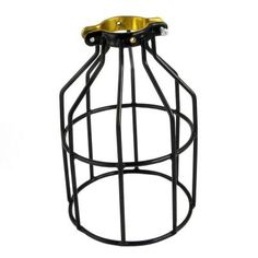 Adamax Metal Lamp Guard for String Light and Lamp holder (4-Pack)-WLG1B - The Home Depot