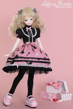 Lolita doll from Arcadia Dolls #bjd