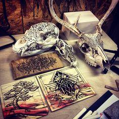 #doodle #doodles #drawing #art #arttherapy #sketch #ink #abstract #zentangle #zentangles #bored #sketchbook #instagood #illustration #draw #artist #paper #pen #artsy #instaart #beautiful #instagood #gallery #creative #artoftheday #pyrography #bone #bear #fox #hunting #deer