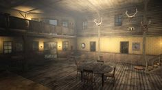red dead redemption armadillo saloon - Google Search Wild West Theme, Western Saloon, Interview With The Vampire, Vampire Books, Red Dead Redemption, Western Decor, Diorama, Westerns, Sheriff Office