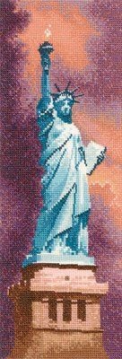 Statue of Liberty - Cross Stitch Pattern