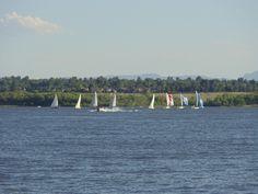 Sailboat on Cherry Creek Lake.