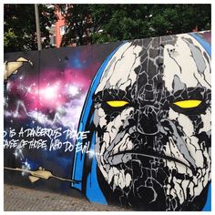 """ZOSSENER STR. (Kreuzberg) #murales #muralart #kreuzberg #nofilter #urban #urbanart #figur #gsw #popart #sprayart #streetart #streetphoto #murales #muralart #arte #art #sanat #Berlin"" Photo taken by @hayati_berlin_schoeneberg on Instagram, pinned via the InstaPin iOS App! http://www.instapinapp.com (06/20/2015)"