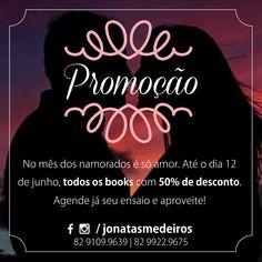 Campanha de dia dos namorados para o fotógrafo Jônatas Medeiros.