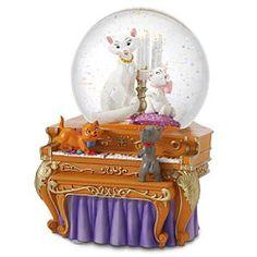 Disney Aristocats on the piano Snowglobe