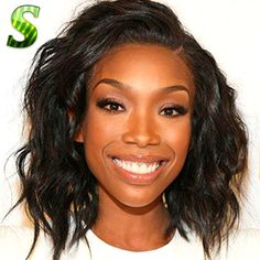 68.22$  Buy here - http://aliwj1.worldwells.pw/go.php?t=32680371206 - New Cute Short Bob Wigs For Black Women Brazilian Virgin Hair Lace Front Wigs With Baby Hair Glueless Full Lace Human Hair Wigs