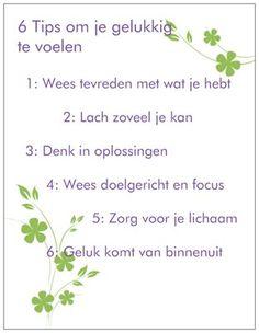 6 tips voor geluk