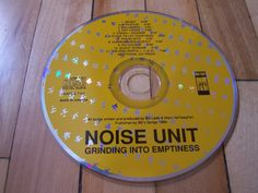 NOISE UNIT Grinding Into Emptiness CD Only Missing Cover Insert & Jewel Case
