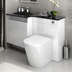 Super Ideas For Bathroom Vanity Unit White Drawers Small Vanity Sink, Bathroom Vanity Units, Best Bathroom Vanities, Bathroom Design Small, Bathroom Layout, Downstairs Bathroom, Bath Design, White Drawers, White Interior Design