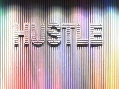 Hustle more, fret less! #inspiration #art #cowrks #coworkingspaces #officespace #beautifuloffices #makeithappen #success #hustle