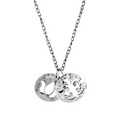 Murkani Disc Charm Sterling Silver Necklace. Available at www.murkani.com.au