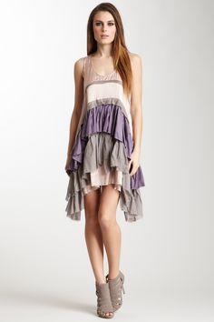 Mischa Barton the annie ragamuffin dress