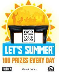 Food Should Take Good Prizes Giveaway (Facebook)