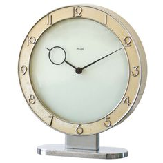 ok - Kienzle mantle clock | From a unique collection of antique and modern clocks at http://www.1stdibs.com/furniture/more-furniture-collectibles/clocks/