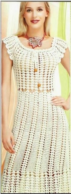 BELLO!!! Crochet Dress http://www.pinterest.com/chabelsa/vestidos-crochet/