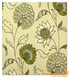 Non-woven wallpaper Scandinavian Vintage Marburg 51660 green Wallpapers Marburg Scandinavian Vintage