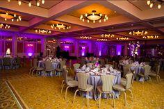 Barton Creek Country Club Wedding. Purple uplighting. Pink lighting. Pinspotting. Photos by Jenny Demarco. http://jennydemarco.com