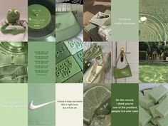 50+ Sage Green Wall Collage Kit   Aesthetic Sage Green Photo Collage   Matcha and Mint Green   Pinterest Aesthetic