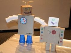 Think outside the cereal box to create an upcycled robot! Anyone who's a fan of MAKE must, at a minimum, appreciate a good robot when they see it. So when there's an easy way to create a robot from materials you have in your kitchen, it's a great, budget-friendly way to have fun with your kids on a summer's day—or anytime.