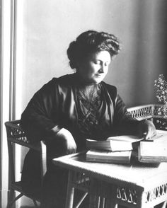 Maria Tecla Artemisia Montessori (Italian  August 31, 1870 – May 6, 1952) was an Italian physician and educator best known for the philosophy of education that bears her name, and her writing on scientific pedagogy. Her educational method is in use today in some public and private schools throughout the world.  https://en.wikipedia.org/wiki/Maria_Montessori     http://www.michaelolaf.net/maria.html