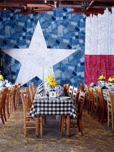 Not super fan of this idea, but this website with different RUSTIC wedding ideas!!