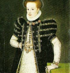 Ropa: 1560 portrait of a young girl, c, Francois Clouet