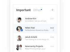 Email Messenger / Grid