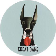 マイ @Behance プロジェクトを見る : 「018 | Great Dane」 https://www.behance.net/gallery/42194261/018-Great-Dane