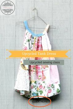 Patchwork Sewing Classes Upcycled Sewing Refashion Reclaimed Repurposed Sew Online Class Boho Tutorials Vintage Patterns Plus by CreoleSha Sewing Tutorials, Sewing Hacks, Sewing Projects, Sewing Patterns, Tutorial Sewing, Sewing Tips, Vintage Patterns, Beginners Sewing, Upcycling Projects