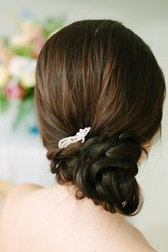 Hairstyle. Via Inweddingdress.com #bridalhair