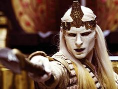"""Hellboy 2 Prince Nuada. Simple character design that pays off big time on screen. Best line of the film goes to Prince Nuada, """"We die, and the world is poorer for it."""""""