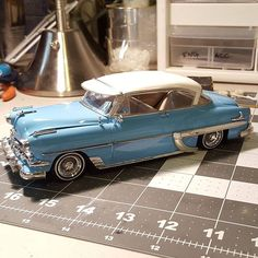 She's a done deal , one of my favorite customer builds. I hope he likes it. #1954 #chevrolet #belair #lowrider #lowriders #lowridermodelcar #lowridermodelcars #scalelowrider #scalelowriders #bombs #bombas #scalemodelcar #scalemodelcars ##modelcar #modelcars #modelcarsofinstagram #hardtop