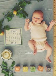 10 really creative Birth Announcements… including my own DIY one! Newborn Pictures, Baby Pictures, Foto Newborn, Party Fiesta, Foto Baby, After Baby, Baby Arrival, Baby Birth, Everything Baby