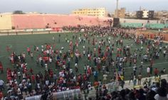 Eight people killed in stampede at Senegalese football match