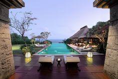 Infinity pool at Bulgari,Uluwatu, Bali