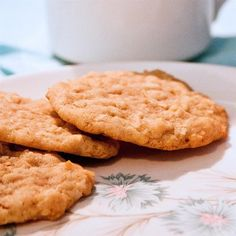 """Chewy Coconut Cookies 