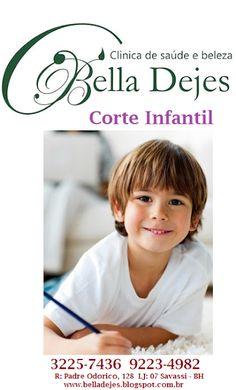 Bella Dejes Clínica de Saúde e Beleza: Corte infantis para todas as idades, marque agora ...