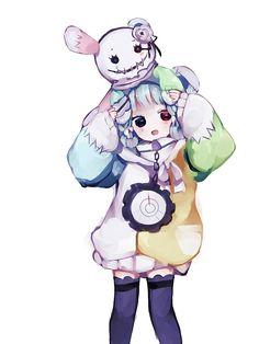 Cute Anime Chibi, Anime Child, Compass, Kids Girls, Anime Art, Disney Characters, Fictional Characters, Minnie Mouse, Kawaii