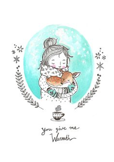 Marieke ten Berge 'Postcard You Give Me Warmth'