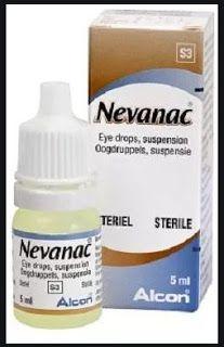 دليل القطرات Nevanac Drops قطرة العين نيفاناك Eye Drops Personal Care Toothpaste