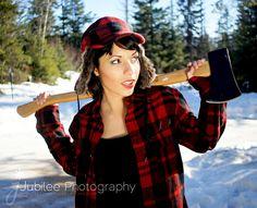 Lumber Jack Inspired    Model - Marissa  Photographer - Jubilee Photography